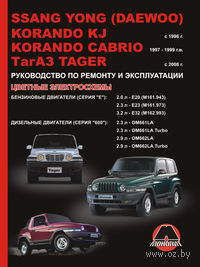 SsangYong Korando KJ / SsangYong Korando Cabrio / ТАGАZ Tager с 1996 г. Руководство по ремонту и эксплуатации