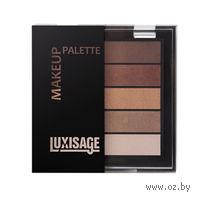 "Тени для век ""Make up palette"" (тон: 4, кофейный аромат)"