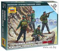 """Набор миниатюр """"Немецкие горные стрелки 1939-1943"""" (масштаб: 1/72)"""