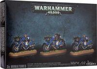 "Миниатюра ""Warhammer 40.000. Space Marine Scout Bike Squad"" (48-28)"