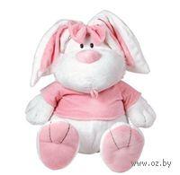 """Мягкая игрушка """"Кролик белый сидячий"""" (56 см)"""