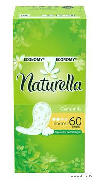Женские гигиенические прокладки на каждый день NATURELLA Normal Deo (60 штук)