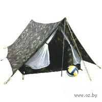 Двухместная однослойная палатка