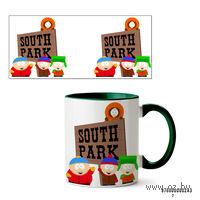Кружка Южный парк (243, зеленая)