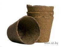 Торфяной горшок Jiffy 8см х 8см (в упаковке 32 штуки)