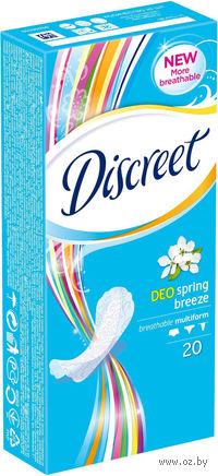 """Ежедневные прокладки Discreet Deo """"Весенний бриз"""" (20 шт)"""