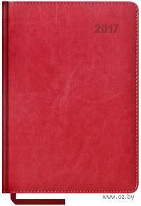 """Ежедневник датированный """"Sarif"""", 2017 (А5; 176 листов; бордовый)"""