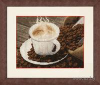 """Вышивка крестом """"Ароматный кофе"""""""
