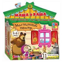 """Магнитный театр """"Маша и медведь. Маша+каша"""""""