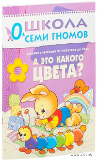 А это какого цвета? Занятия с ребенком от рождения до года. Дарья Денисова