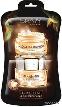 """Маска с белой глиной для лица """"Макадамия"""" (2 шт)"""