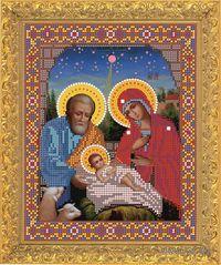 """Вышивка бисером """"Рождество Христово"""" (240х185 мм)"""