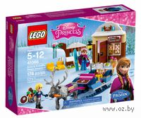 "LEGO Disney Princess ""Анна и Кристоф: прогулка на санях"""