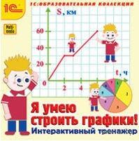 1С:Образовательная коллекция. Я умею строить графики! Интерактивный тренажер