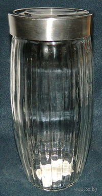 Банка для сыпучих продуктов стеклянная (2200 мл; 12,8х27,5 см)
