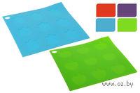Подставка под горячее силиконовая квадратная (17*17 см)