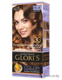 Крем-краска для волос (тон: 5.4, капучино, 2 шт)
