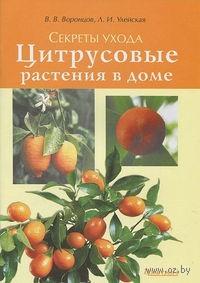 Цитрусовые растения в доме. Секреты ухода. Л. Улейская, Валентин Воронцов