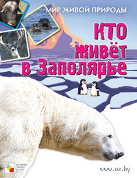 Кто живет в Заполярье. Книжка с наклейками. Елена Краснушкина