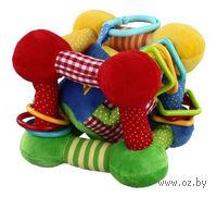 """Мягкая игрушка """"Кубик с игрушкой внутри"""""""