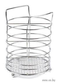 Подставка для столовых приборов металлическая (15,5х11,5 см; арт. XX004-4)