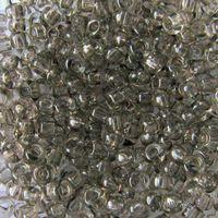 Бисер прозрачный №01141 (серый)