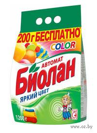 """Стиральный порошок для автоматической стирки """"Color"""" (1.2 кг)"""