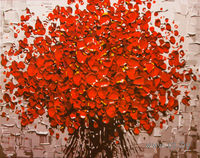 "Картина по номерам ""Красный букет"" (400x500 мм; арт. MG557)"