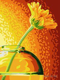 "Картина по номерам ""Желтая гербера"" (400х300 мм)"