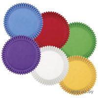 """Набор форм бумажных для выпекания кексов """"Радуга"""" (150 шт; арт. WLT-415-1623)"""