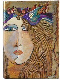 """Записная книжка Paperblanks """"Душа и слезы"""" в линейку (формат: 130*180 мм, средний)"""