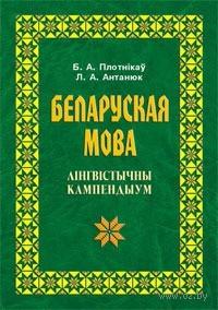 Беларуская мова. Лiнгвiстычны кампендыум