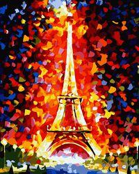 """Картина по номерам """"Эйфелева башня"""" (400x500 мм; арт. MG076)"""