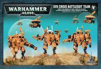 "Миниатюра ""Warhammer 40.000. XV8 Crisis Battlesuit Team"" (56-07)"