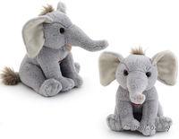 "Мягкая интерактивная игрушка ""Wiki Zoo. Слоник"" (арт. 9937/WZ)"