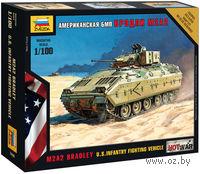Американская БМП Бредли М2А2 (масштаб: 1/100)