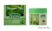 """Крем для лица ночной успокаивающий """"Зеленый чай с лимоном и липой"""" (50 мл)"""