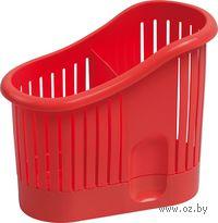 Сушилка для столовых приборов (красная)