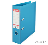 Папка-регистратор А4 с арочным механизмом, 75 мм (ПВХ, светло-голубая)