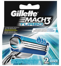 Кассета для станков для бритья Gillette MACH3 Turbo (2 штуки)