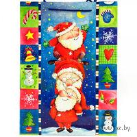 """Пакет бумажный подарочный """"Новогодняя сказка"""" (25*8,5*33 см)"""