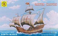 """Корабль Колумба """"Санта-Мария"""" (масштаб: 1/150)"""