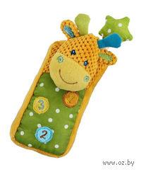 """Мягкая игрушка """"Жирафик-телефон"""" (со звуковыми эффектами)"""
