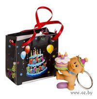 Брелок пластмассовый (4,8 см) в подарочном пакете (арт. 2200610501)