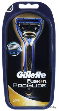 Станок для бритья Gillette FUSION Proglide Gold + 2 кассеты