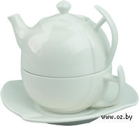 "Набор ""Эгоист"". Чайник (250 мл), чашка (200 мл), блюдце"