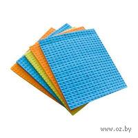 Набор тряпочек для вытирания губчатых (5 шт, 17,5*15,5 см)