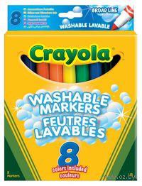 """Фломастеры """"Crayola. Универсальная упаковка"""" (8 цветов)"""