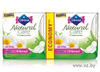 """Женские гигиенические прокладки Libresse Natural Care """"Ultra Normal"""" (20 шт)"""