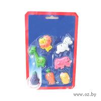 Набор фигурок пластмассовых на магнитах